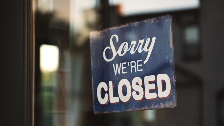 Sorry we´re closed. Tom Mossholder