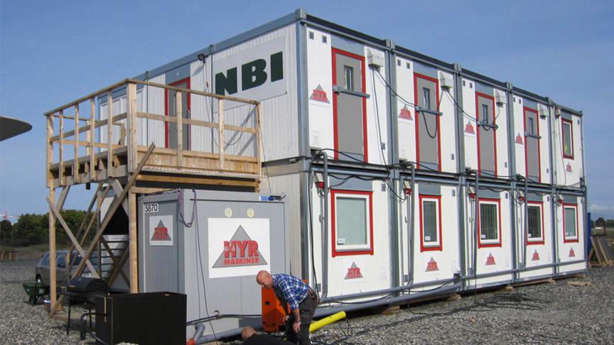 AddMobile och B&Å Hyrmaskiner vill genom sitt samarbete skapa säkrare byggarbetsplatser. Foto: B&Å Hyrmaskiner