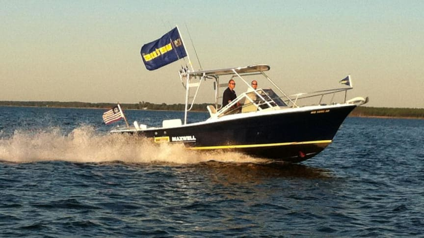 VETUS Maxwell's Topaz Demo Boat featuring the BOW PRO thrusters will be available for sea trials at Miami Boat Show