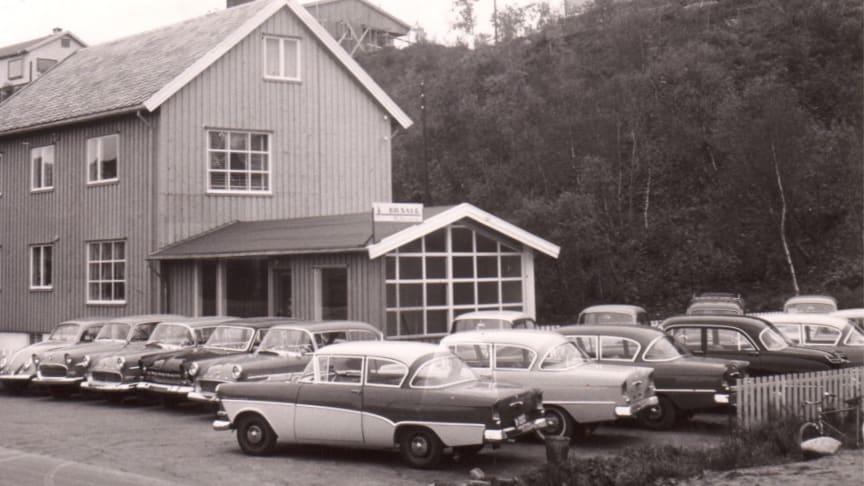 Bilsalg M Nordvik - Skeid i Bodø 1960