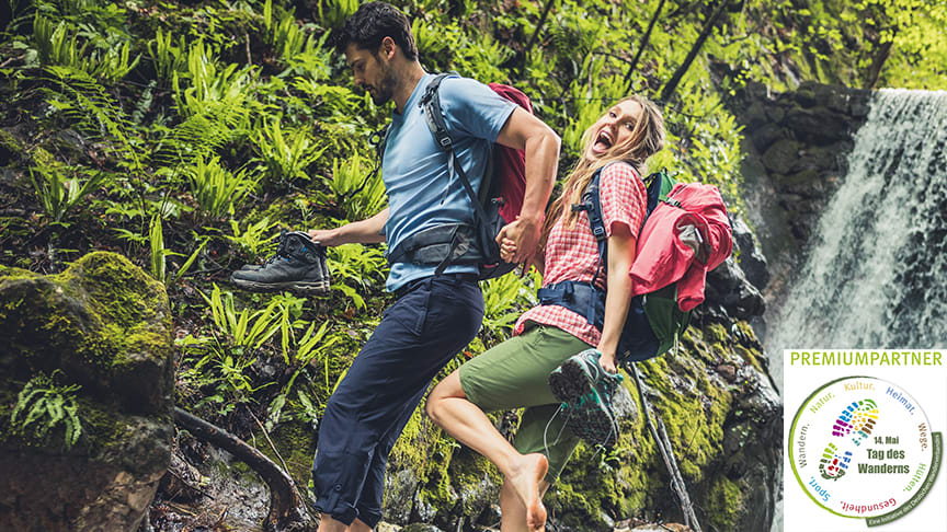 Tag des Wanderns. Maier Sports ist zum dritten Mal in Folge Premiumpartner.