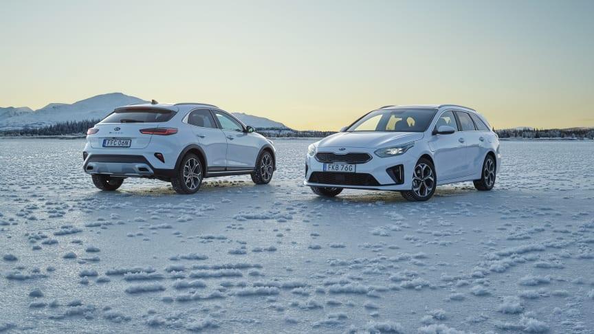 Kia tredje största bilmärke för tredje året i rad