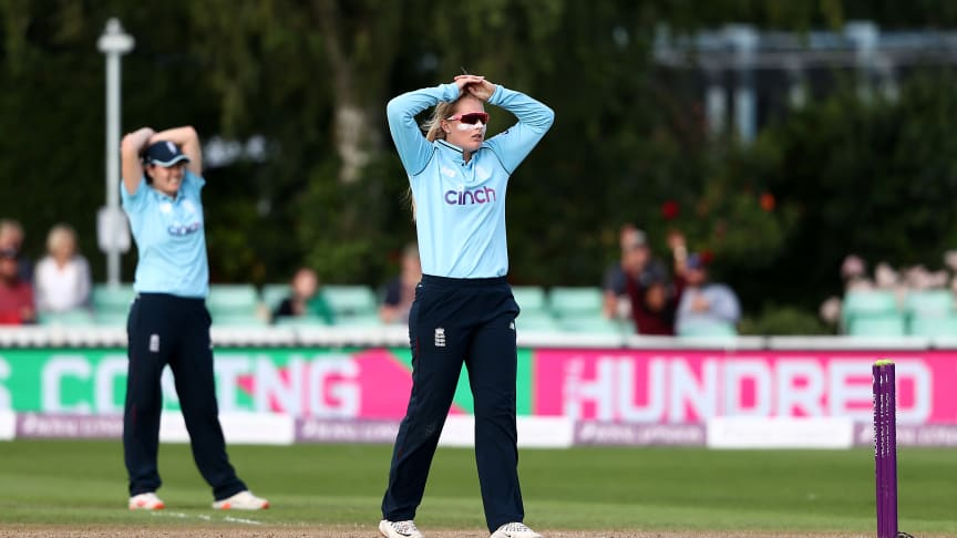 Sophie Ecclestone won Player of the Series. Photo: Getty Images