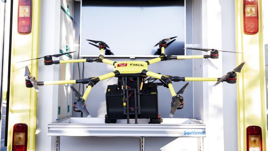 Droner bliver en del af fremtidens sundhedsvæsen