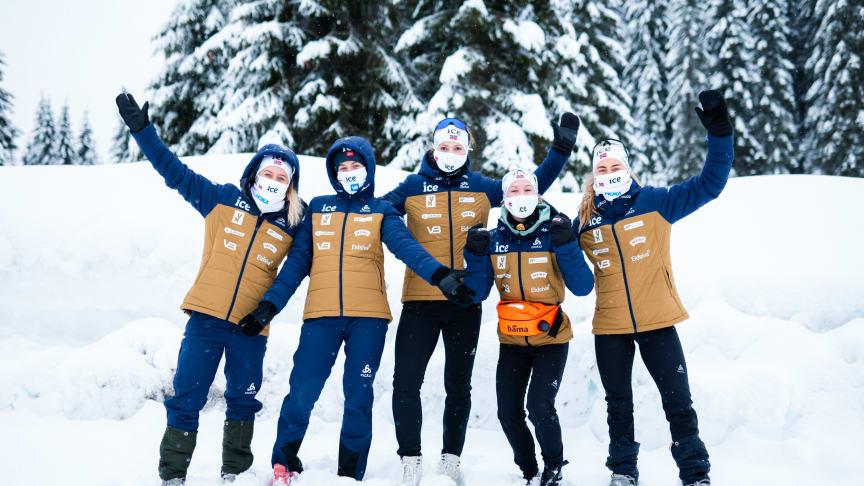 TV-SUKSESS: Skiskytterne er populære på tv-skjermen. Foto: Christian Haukeli