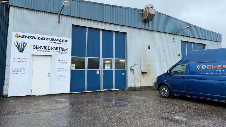Enerco är certifierad servicepartner till Dunlop Hiflex