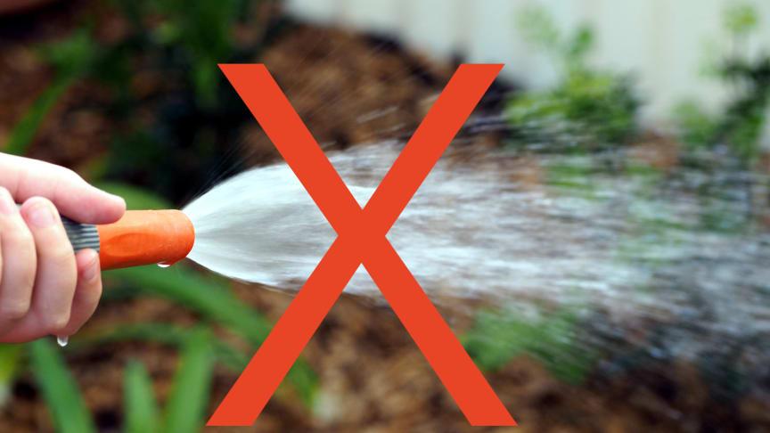 Fortsatt bevattningsförbud i Billinge och Stockamöllan