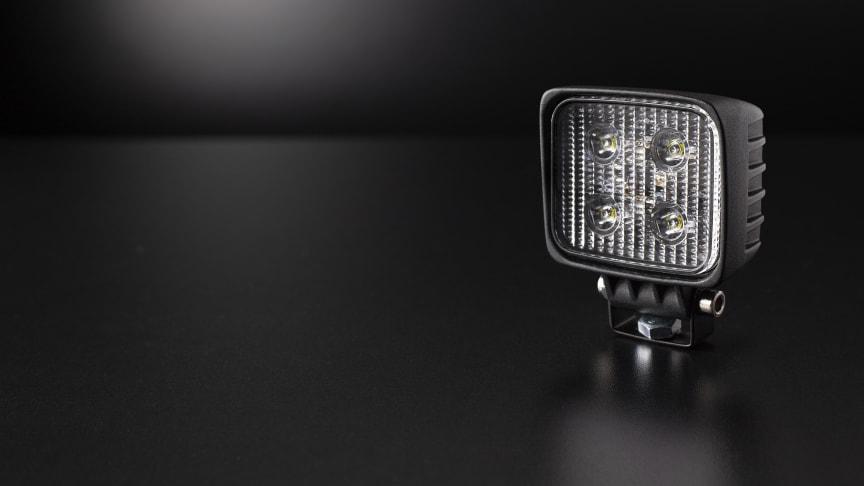 En liten storlek ger nya mini-arbetslampan ett brett användningsområde