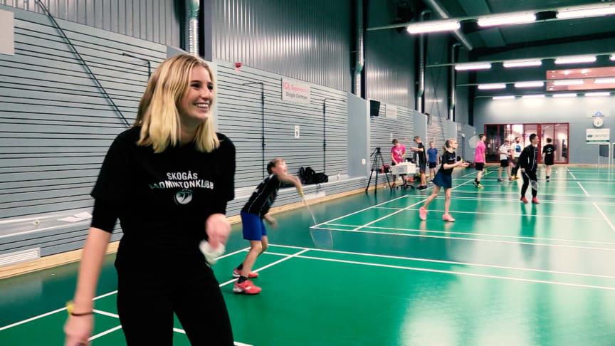 Penny Parnevik Badmintonhallen Skogås