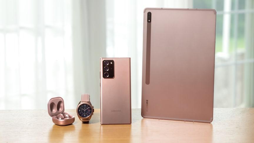 Samsungs nyheter fra Galaxy Unpacked er nå i butikk