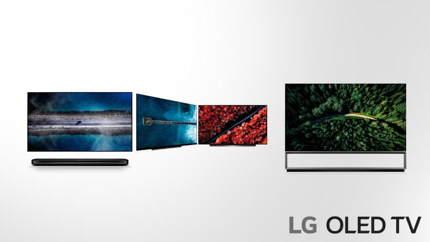 ThinQ AI och andra generationens Alpha 9 (α9) processor tar användarupplevelsen hos LG:s nya TV-modeller till nästa steg