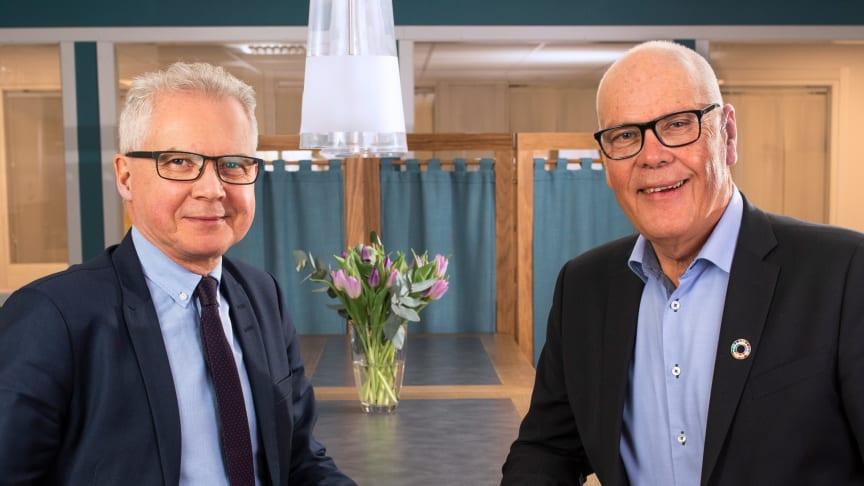Gunnar Olofsson och Lars-Olov Söderström