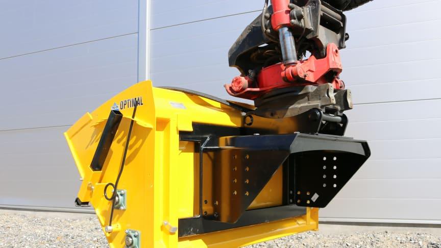 Fäste för grävmaskiner till Trejon Optimal Valsspridare SP600 och SP800