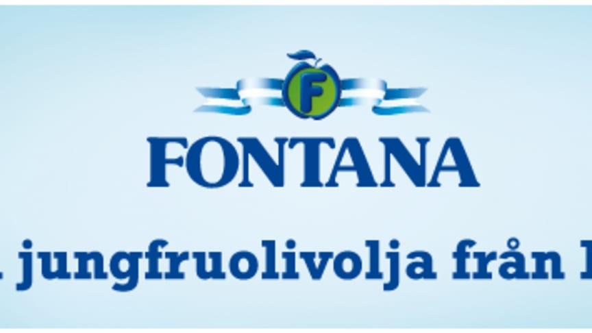 Mild och söt olivolja nytt tillskott i Fontanas sortiment