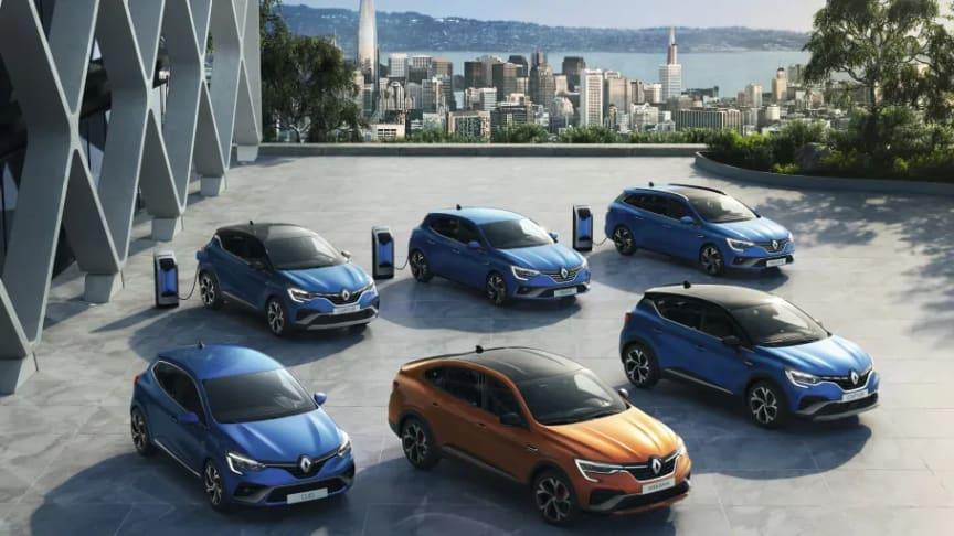 Renault E-TECH modellprogram