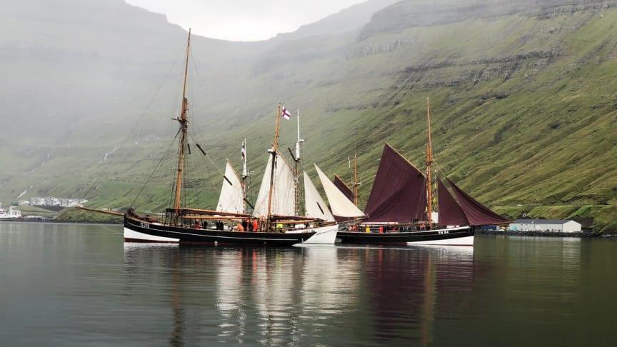 Færingerne kommer! – Historiske færøske skibe i Kulturhavnen