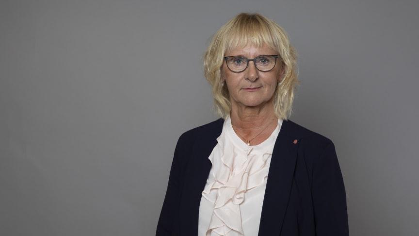 Civil- och konsumentminister Lena Micko. Foto: Ninni Andersson/Regeringskansliet.