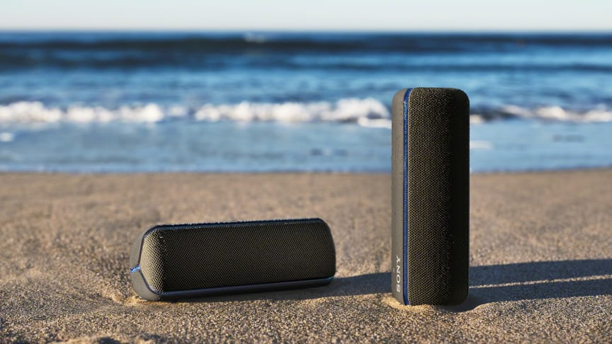 Sonys nye EXTRA BASS™-højttalere booster din fest med kraftfuld lyd