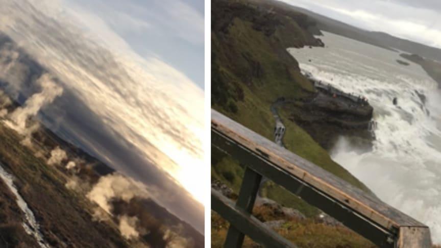 Min resa som student i Schweiz fortsätter - på Island