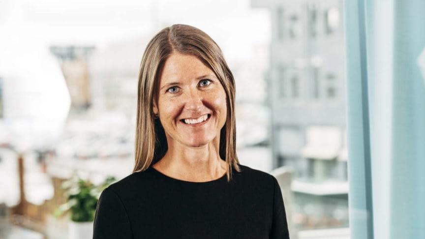 """""""Flexibilitet och wow-faktorer kommer att bli viktiga i framtidens kontor"""", säger Anna Nambord, chef för hållbara affärer på Wihlborgs."""