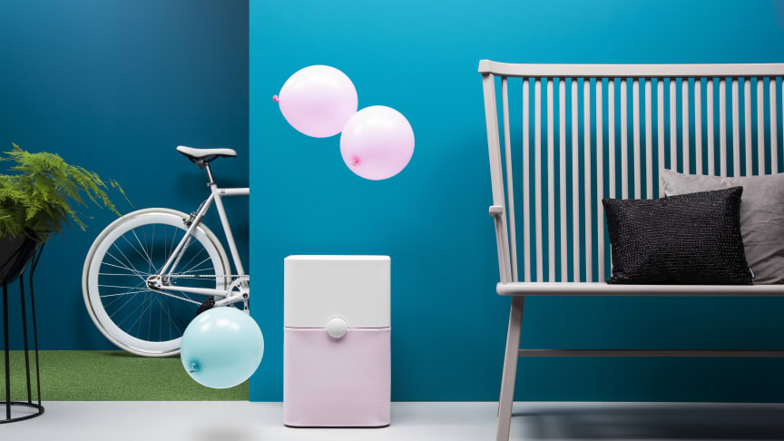 A Blueair 'Blue' air purifier excels at removing airborne pollutants such as volatile organic compounds coming from household cleaners or building materials in a home or workspace environment.