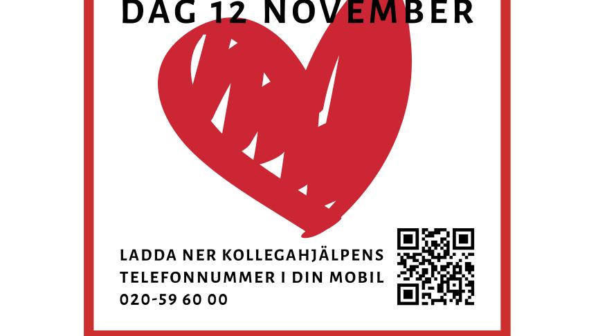 Kollegahjälpens dag den 12 november