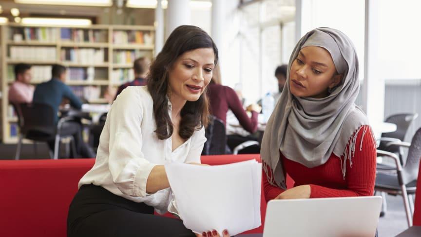 Integration nydansker kvinde samtale jobcenter
