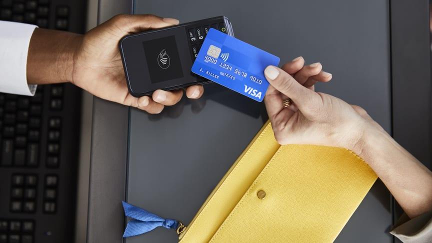 Visa kontaktloses Bezahlen