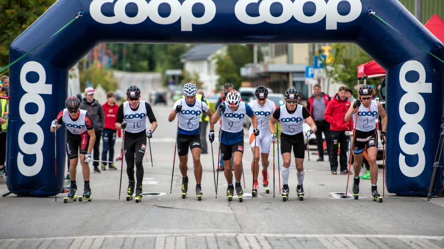Klar for super-duell under årets Coop Trysil Rulleskisprint.