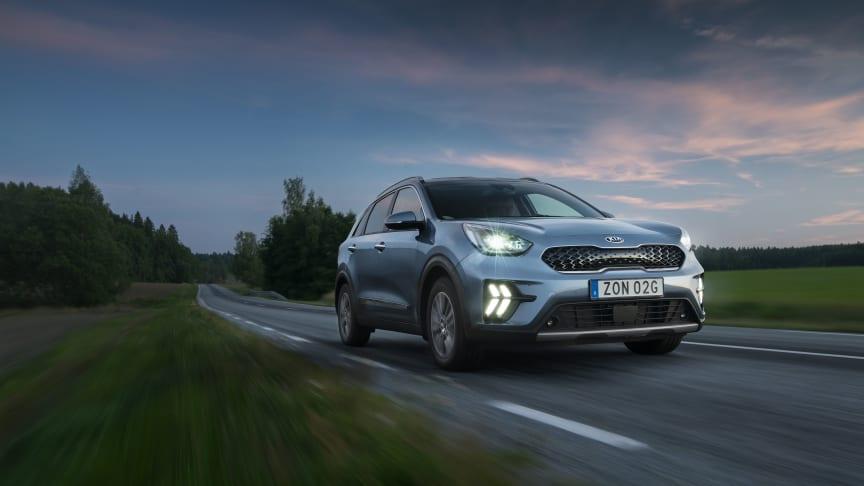 Kia Niro - Sveriges mest sålda bilmodell i augusti 2020.