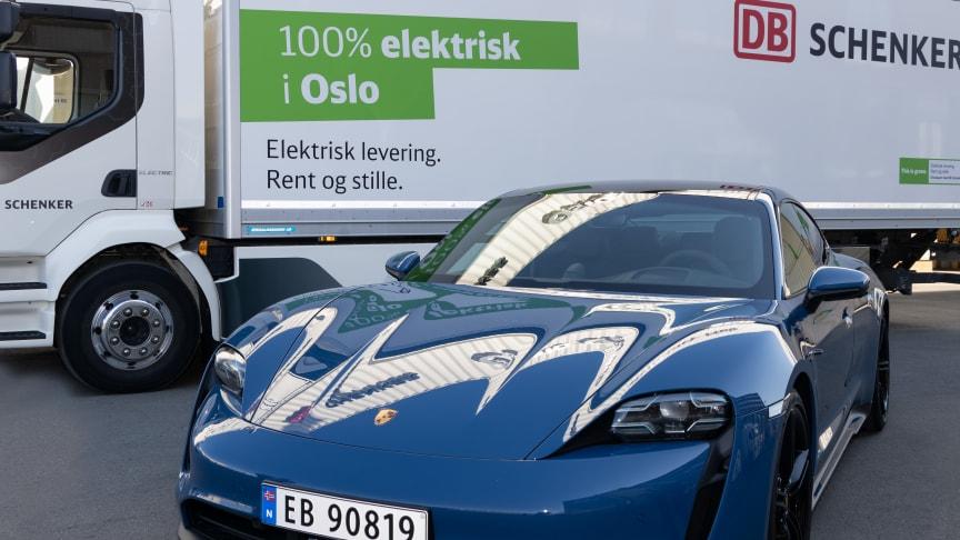 Eksklusive biler krevet eksklusiv servicelogistikk. DB Schenker holder Porsche på veien.