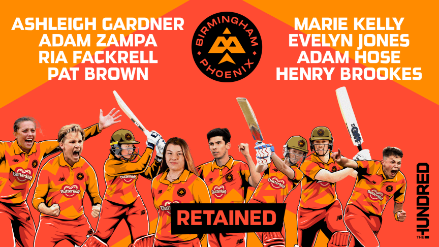 Aussie stars Gardner and Zampa lead eight players committing to Birmingham Phoenix in The Hundred