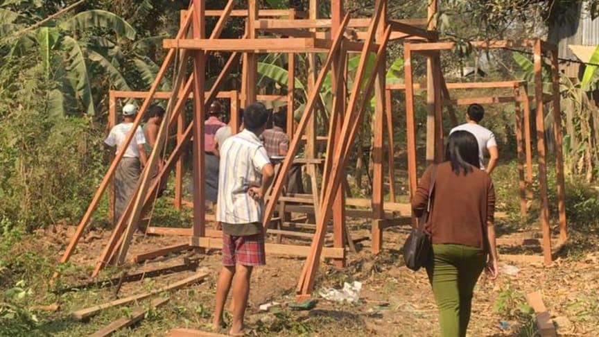 Ny Building Blocks-byggnad invigs i Yangon