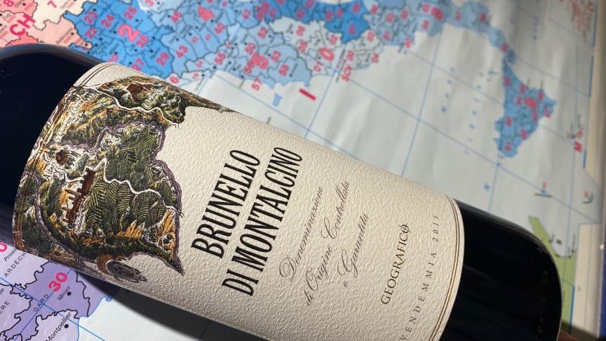 Geografico Brunello di Montalcino 2016 - En av Brunellos största årgångar någonsin