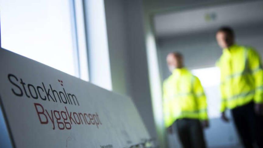 Stockholms Byggkoncept tecknar samarbetsavtal med Byggarnas Partner.