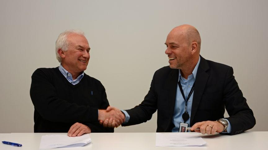 Signert kontrakt til 151 millioner