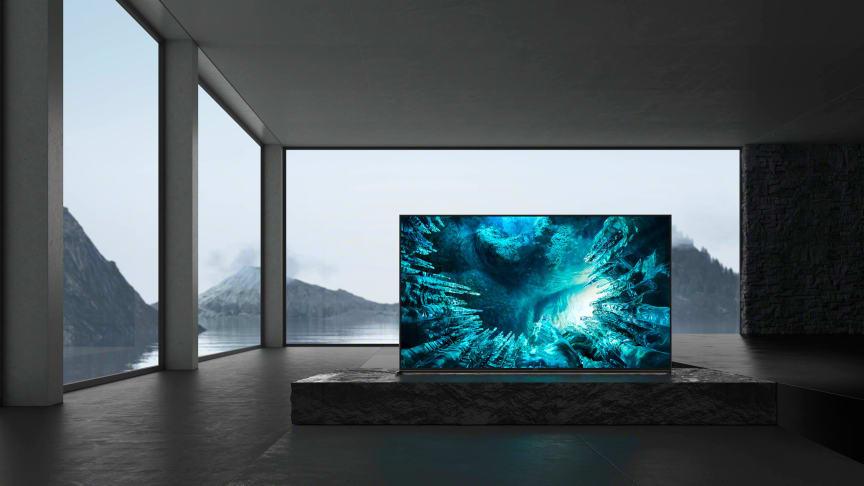 Больше деталей на большом экране 8К