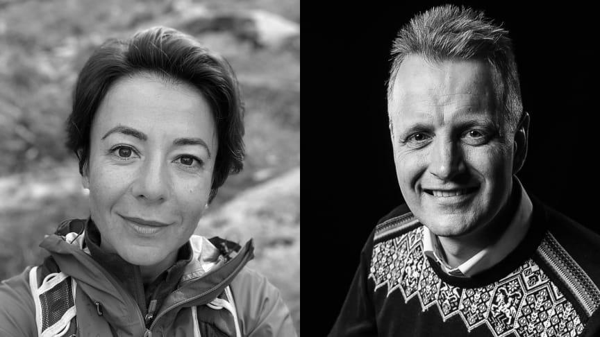 Havva Ince (foto: Privat) og Tomas Holmestad (foto: Magne Vikøren)
