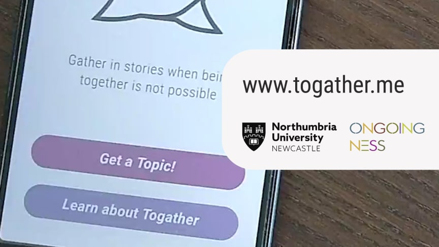 The Togather project allow families and friends to transform WhatsApp conversations into a story booklet for a loved one in isolation