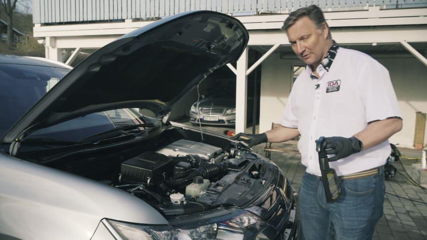 Utrygg på vask av motorrommet på bilen? Her er våre 12 tips til trygg motorvask!