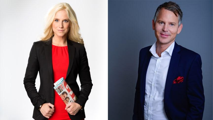 Frida Boisen & Henrik Larsson-Broman föreläser på Partnerdagen i Stockholm den 30 januari 2017.