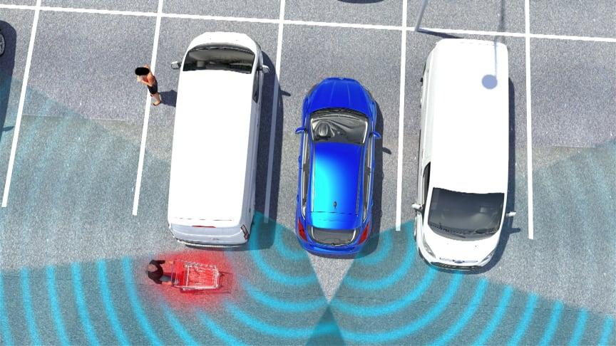 110 000 rygge- og parkeringsskader årlig:  Her er neste generasjons teknologi for problemfri parkering!