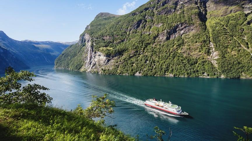 Hurtigruten Norwegian Coastal Express is ramping up to full operations in July