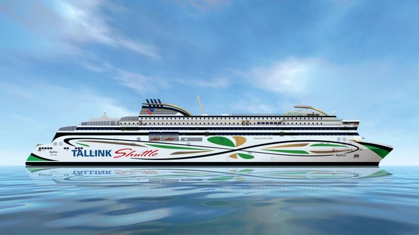 Tallink Grupp fartyg MyStar. Foto: Tallink