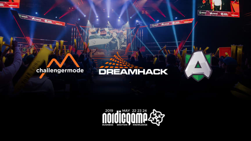 DreamHack and Alliance join Challengermode to talk all-things esports during Nordic Game 2019.