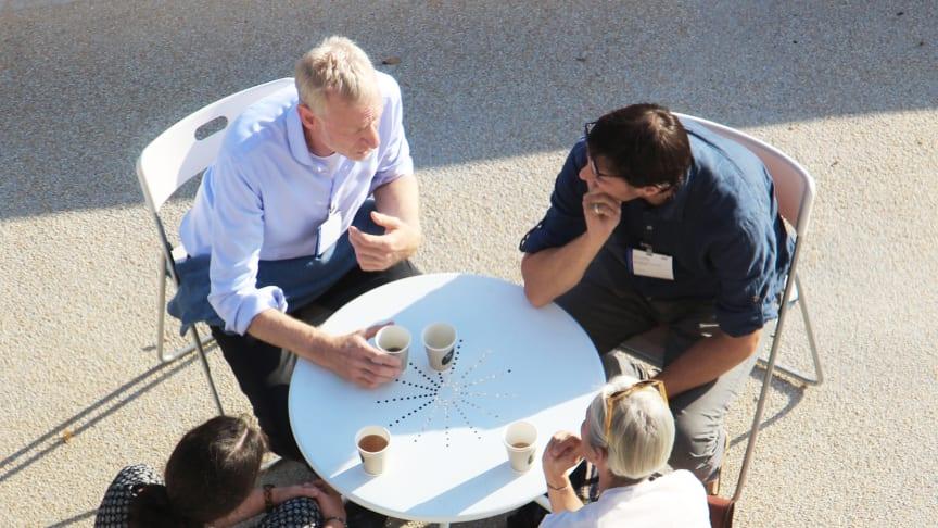 Neue Formen der Zusammenarbeit (Archivfoto vom World Goetheanum Forum 2018: Jonas Lismont)