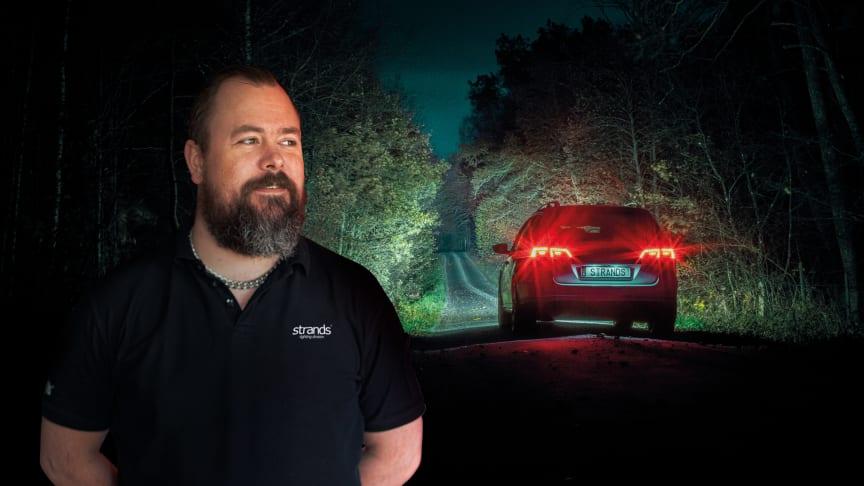 En ljusbild som kombinerar längd och bredd är att föredra, förklarar Strands produktchef Thomas Hagert.