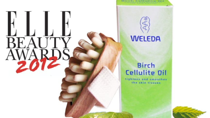 WELEDA - EN VINNARE PÅ ELLE BEAUTY AWARDS 2012