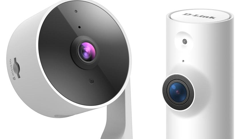 H-V: Smart full HD Wi-Fi-kamera (DCS-8325LH) och mini full HD Wi-Fi-kamera (DCS-8000LHV2)