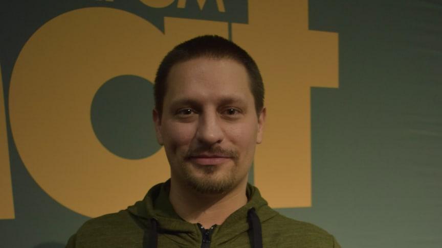 Björn Olfenius, kock på Färna Herrgård & Spa